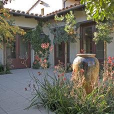 Rustic Exterior by AMS Landscape Design Studios, Inc.