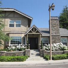 Traditional Exterior by Regal Contracting Company