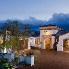 Mediterranean Exterior by Pekarek Crandell Architects