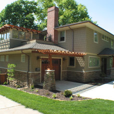 Traditional Exterior by RDM Architecture