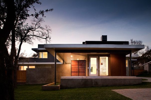 Modern Exterior by Andrew Pogue Photography
