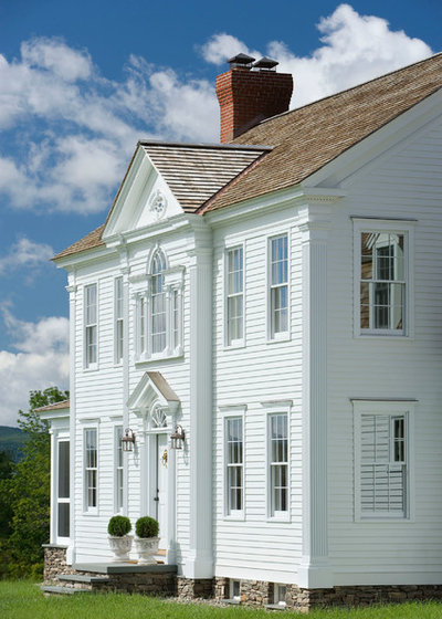 Traditional Exterior by Connor Mill-Built Homes