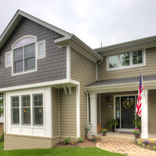 Traditional Exterior by Intellectual Homes, LLC