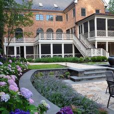Traditional Exterior by McHale Landscape Design, Inc.