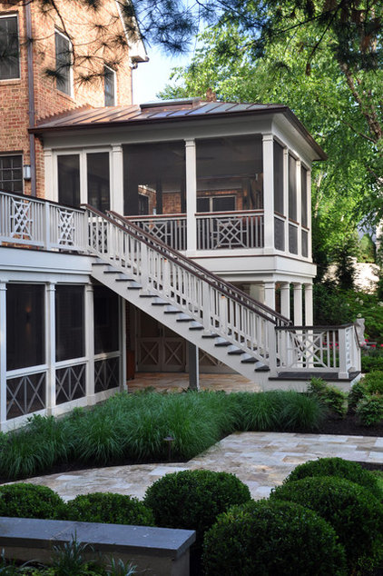 Traditional Exterior by Anthony Cusat of McHale Landscape Design