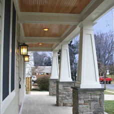 Traditional Exterior by Robert Nehrebecky AIA, Re:New Architecture