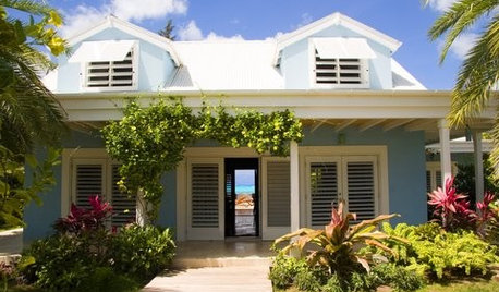 Bahama Shutters Bring the Look of the Tropics Home