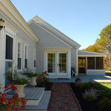 Traditional Exterior by Hammer Architects