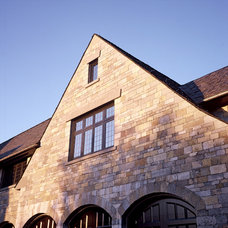 Traditional Exterior by Rhodes Architectural Stone