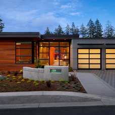 Contemporary Exterior by Christopher Developments