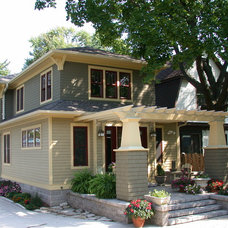 Traditional Exterior by Bungalow Pros