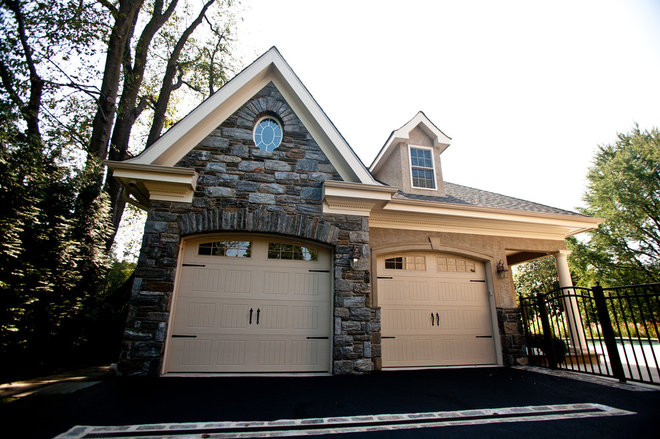 Traditional Exterior by Chase Building Group
