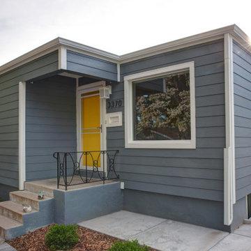 Arapahoe Acres Post-War Home   Siding Update   James Hardie ColorPlus