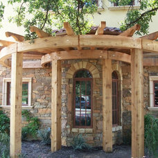Exterior by Allen Rustic Wood Designs