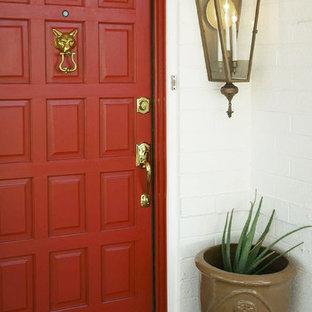 Arcadia Vacation Rental - Front Door www.hryanstudio.com
