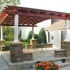 Traditional Exterior by Forever Redwood