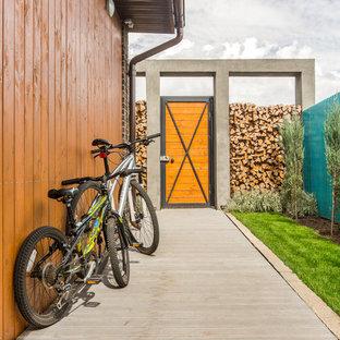 Industrial exterior home idea in Los Angeles