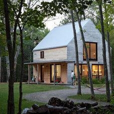 Contemporary Exterior by Caleb Johnson Architects + Builders