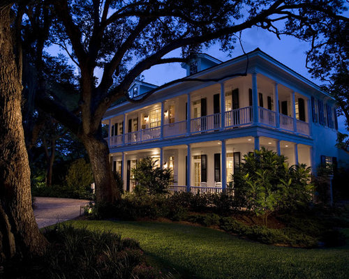 Two Story Porch Home Design Ideas Pictures Remodel And Decor