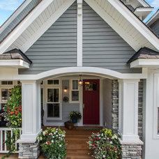 Craftsman Exterior by Architectural Designs