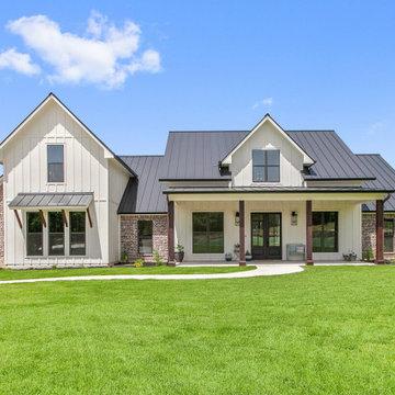 Architectural Designs Farmhouse House Plan 51773HZ Client-Built in Texas