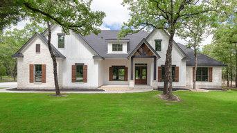 Architectural Designs Farmhouse Plan 51778HZ Client-Built in Texas