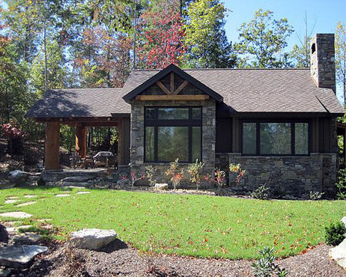 Weekend mountain escape house plan 11529kn 681 sq ft for Weekend cabin plans