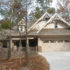 Craftsman Exterior by Architectural Designs
