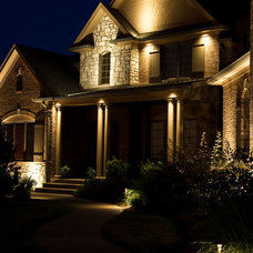 Eclectic Exterior by Lite4 Outdoor Lighting