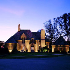 Traditional Exterior by Outdoor Lighting Perspectives - Birmingham, AL