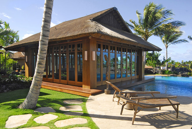 Tropical Exterior by Meyers Creative