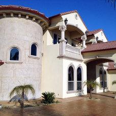 Mediterranean Exterior by TranDesign, Inc. / Foam Design Center.com