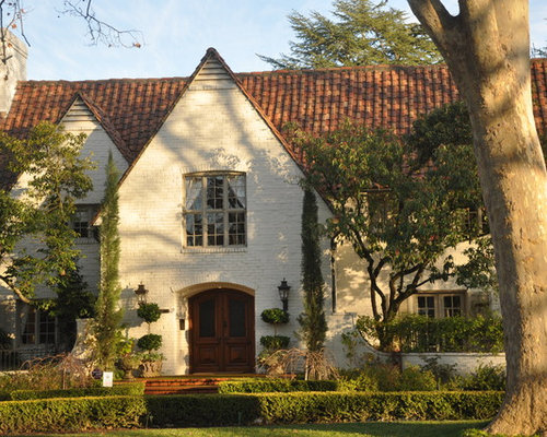 Exterior Paint Colors With Red Roof Houzz