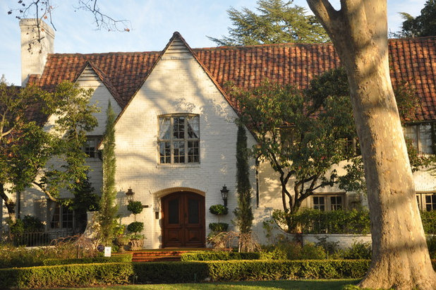 Traditional Exterior by Kerrie Kelly Design Lab