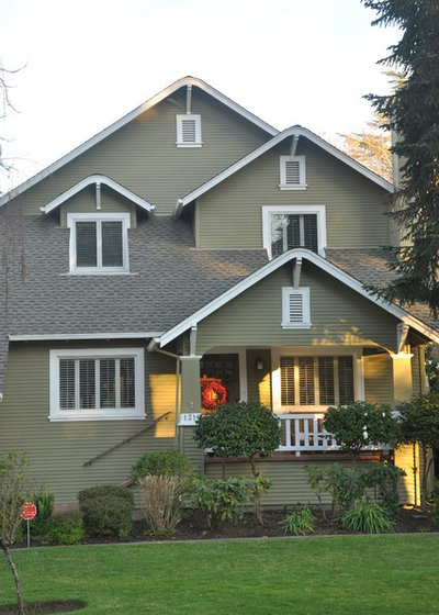 Craftsman Exterior by Kerrie Kelly Design Lab