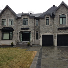 Transitional Exterior by AFCON Construction