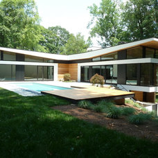 Modern Exterior by Cablik Enterprises