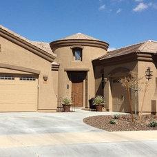 Mediterranean Exterior by Arizona Homes - RE/MAX Solutions - Zenja Darabnia