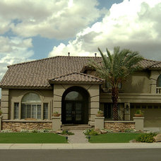 Contemporary Exterior by MGM Landscape Inc.