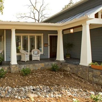 Arlington Arts & Crafts Home Exterior Beautifully Restored