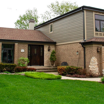Arlington Heights, IL Remodel Split Level Integrity from Marvin Windows & Siding