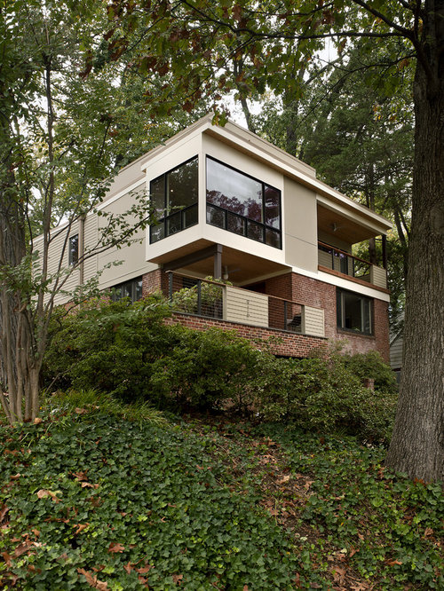 1950s Two Story Exterior Home Photo In DC Metro