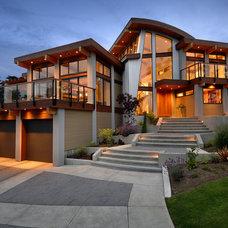 Contemporary Exterior by Keith Baker Design Inc.