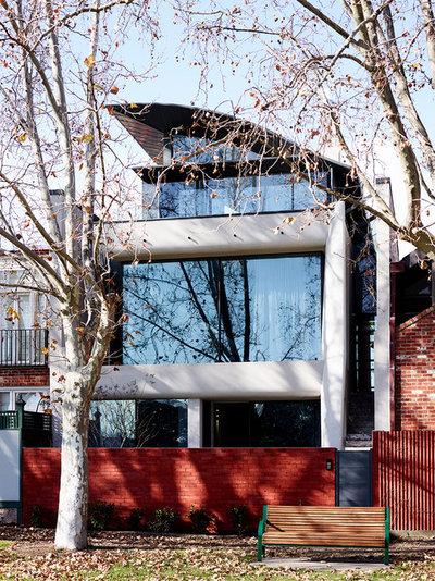 Contemporáneo Fachada by Rob Mills Architecture & Interiors