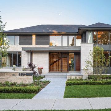 Arriscraft Adaire® Limestone Home - Ottawa Ontario