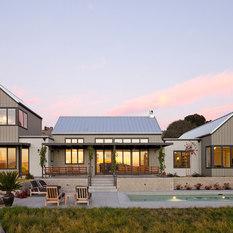 Gable Roof Steep Pitch Farmhouse