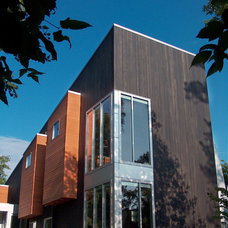 Contemporary Exterior by Stahl Architects & Builders