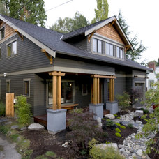 Craftsman Exterior by CAST architecture