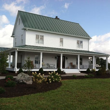 Traditional Exterior by Trost Custom Homes Inc