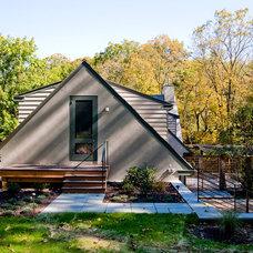 Traditional Exterior by Ellen Happ Architect